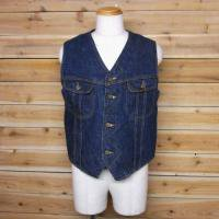 70's Lee STORM RIDER DENIM BOA VEST
