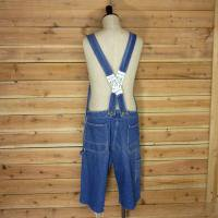 70's KEY OVERALL LOW BACK CUT OFF
