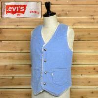 70's Levi's Corduroy Boa Vest