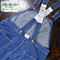 60's OSH KOSH OVERALL LOW BACK