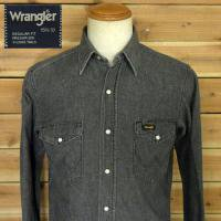 Wrangler Black Denim Western