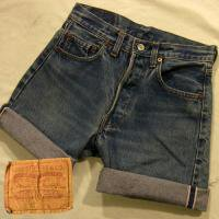 Levi's 501 RED LINE CUT OFF