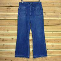 80's TROUSERS DENIM PANTS