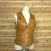 70's GEORGETOWN LEATHER VEST