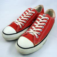 90's CONVERSE ALL STAR Lo RED