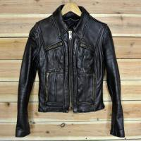 60's SINGLE LEATHER JKT
