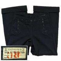 40s US NAVY Wool Sailor Pants