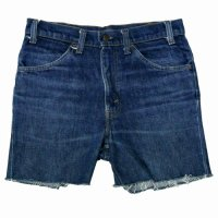 80s Levi's 646 Denim Cut Off PT