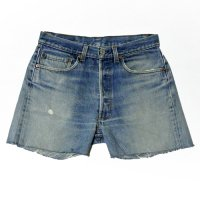 80s Levi's 501 Denim Cut Off PT