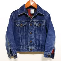 70s BRISTOL BLUES Denim JKT 裏地ネル Kids USA製