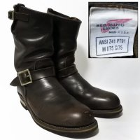 94y RED WING 2268 Engineer Boots PT91